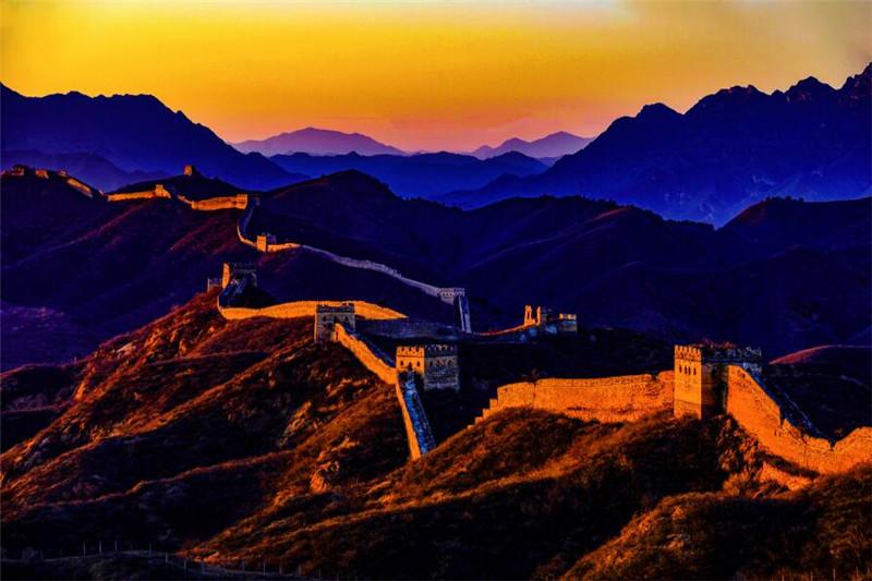 承德金山岭。图片由金山岭景区提供。摄影:郭中兴、贾海麟、林强等。