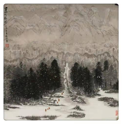 中国金融美术家——赵阳