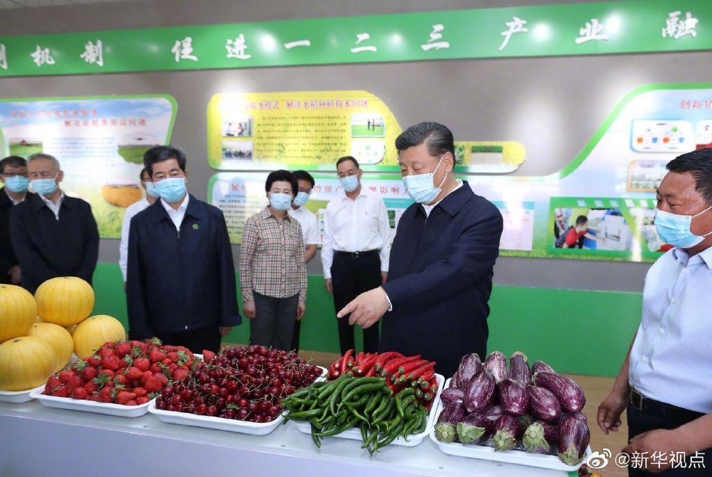 习近平:农业要节水化